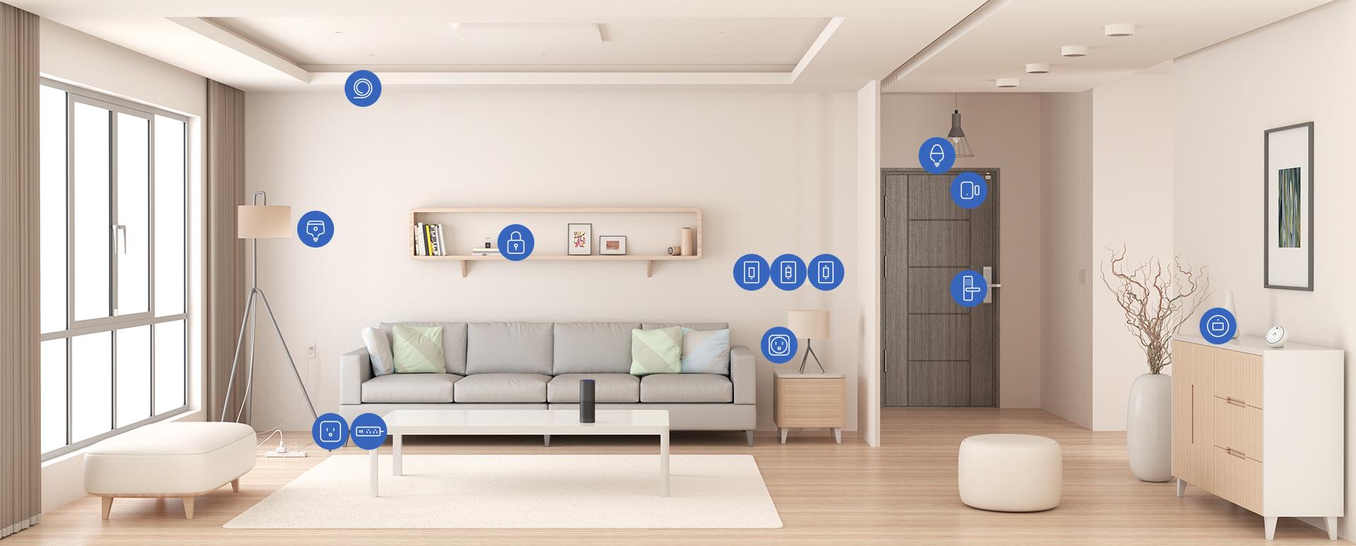 خانه هوشمند ساده | بدون نیاز به سیم کشی | هوشمندسازی بی سیم